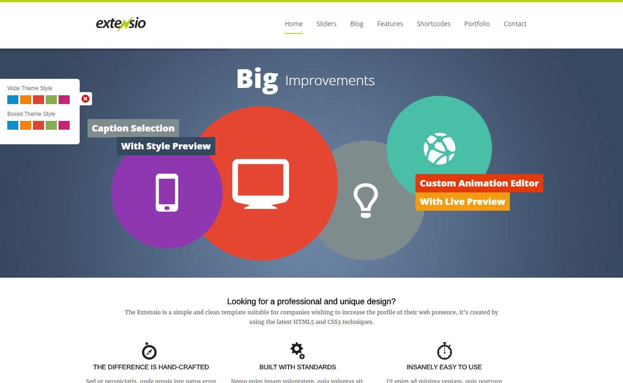 Extensio - Premium Business WordPress Theme