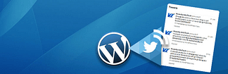 WP Twitter Feed - Free Auto Tweet WordPress Plugins