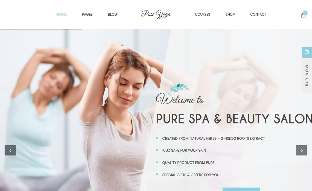 pure-best-premium-spa-beauty-wordpress-theme