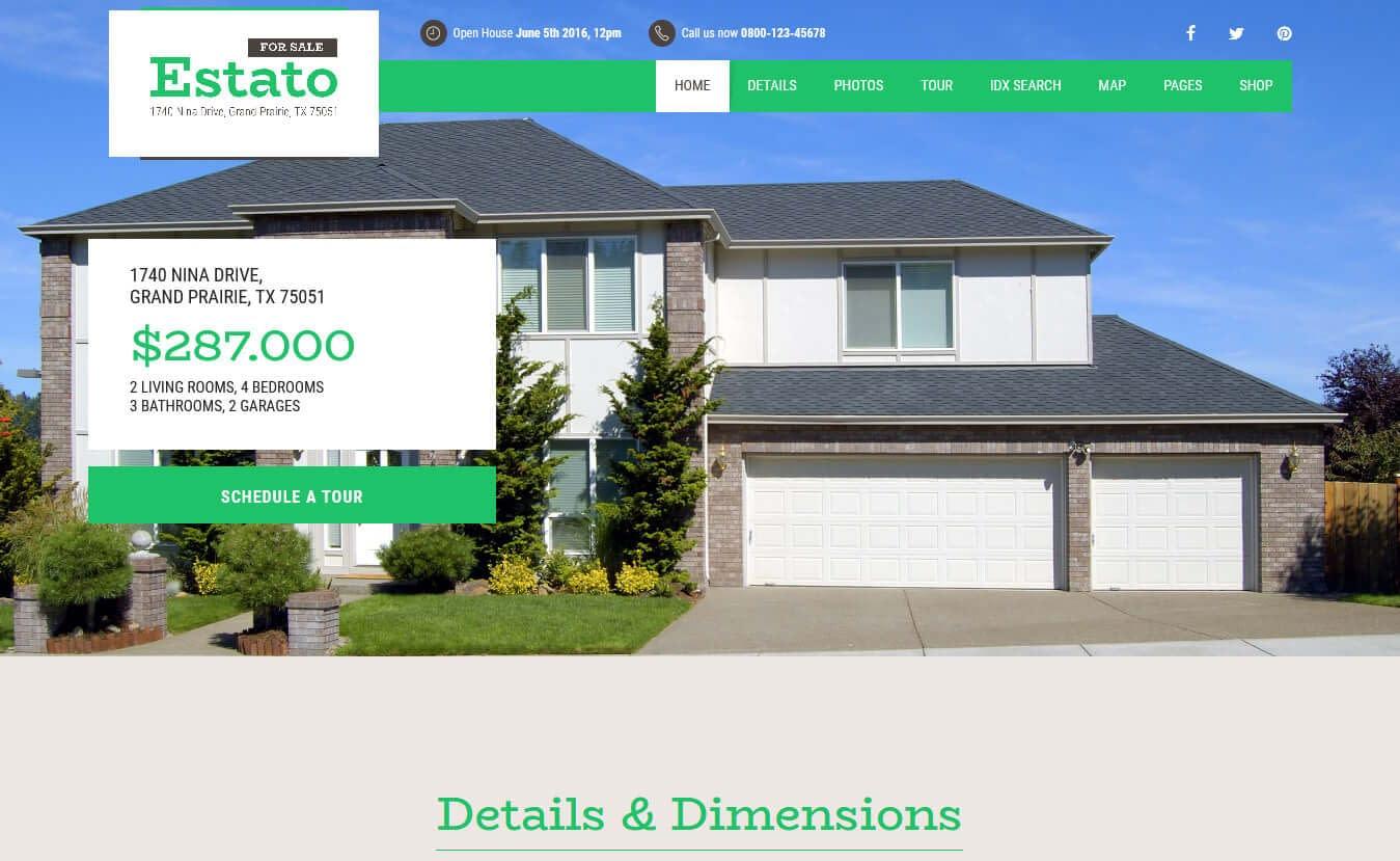 10+ Best Premium Home Rental and Property WordPress Themes