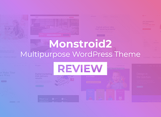 Monstroid2 – Multipurpose WordPress Theme Review
