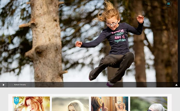 Click - Free Photography WordPress Theme