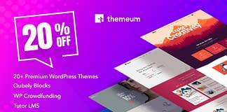 20% Off on Themeum