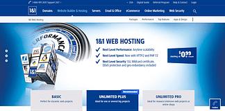1 & 1 Web Hosting - Largest WordPress Hosting Providers