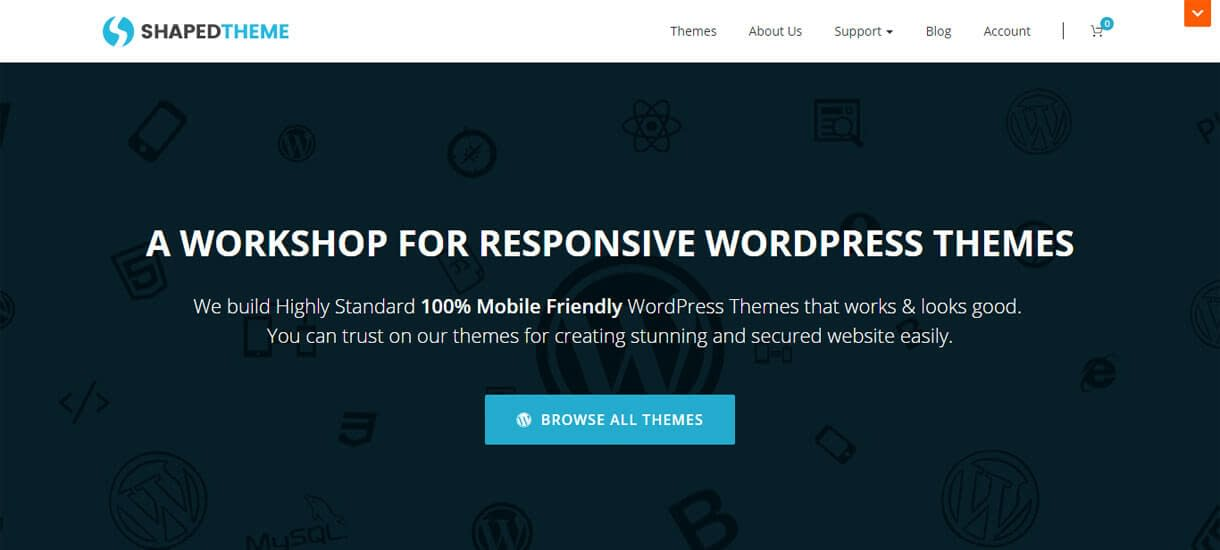 ShapedTheme - WordPress Deals for Christmas and New Year 2017