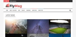 FlyMag - Free Responsive WordPress Magazine Theme