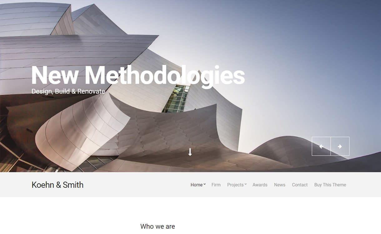 Koehn - Premium Business WordPress Theme for 2017