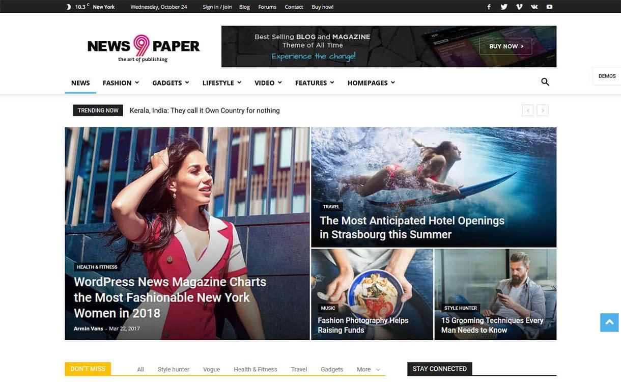 newspaper-best-premium-gdpr-friendly-wordpress-theme