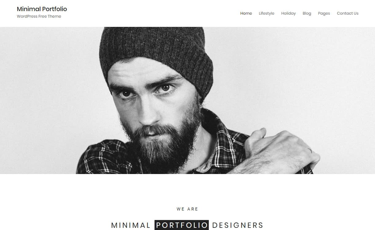minimal-portfolio-best-free-minimal-wordpress-theme