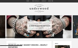 Underwood - Modern WordPress Blogging Theme