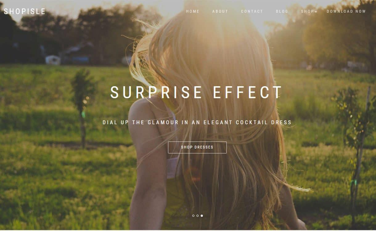shopisle-best-free-fullscreen-wordpress-theme