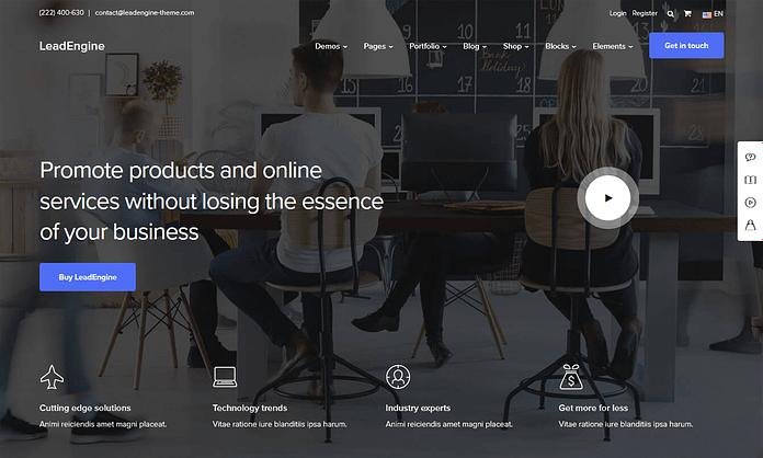 LeadEngine - Multipurpose WordPress Theme