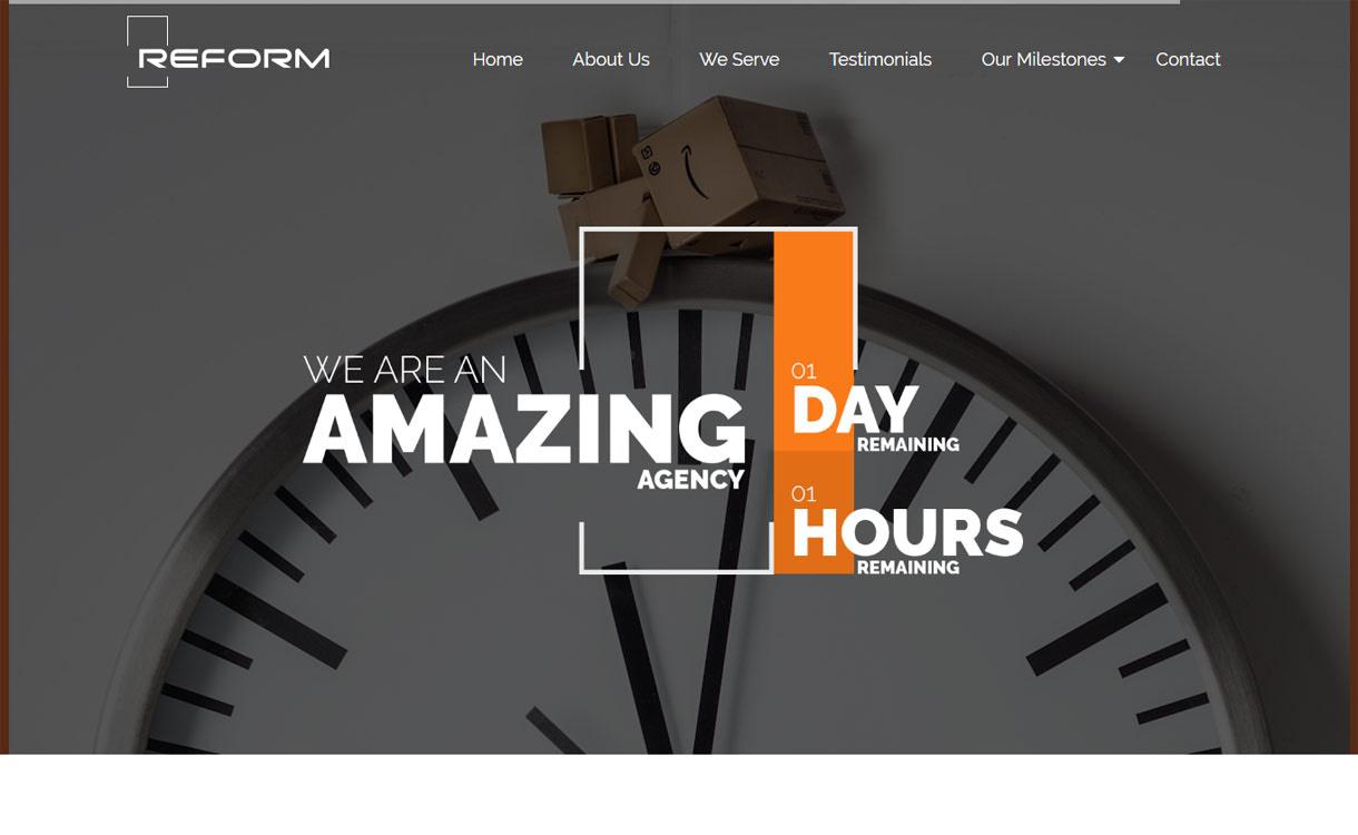Reform - Premium Business WordPress Theme 2017