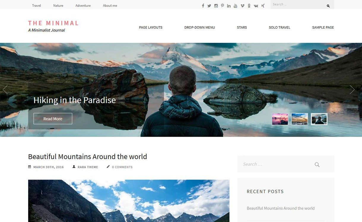 the-minimal-best-free-minimal-wordpress-theme
