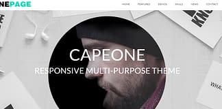 CapeOne - Free Multipurpose WordPress Theme