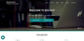Bizlight - Free WordPress Multipurpose Theme