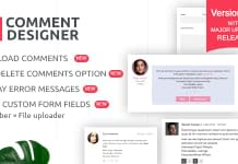 WordPress Plugin to Design and Customize Comments - WP Comment Designer