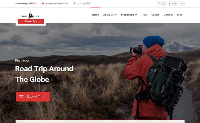 Travel Tour - Professional Travel WordPress Theme