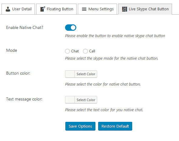 Ultimate Contact Button: Live Skype Chat Button