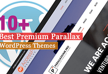 Best Premium Parallax WordPress Themes