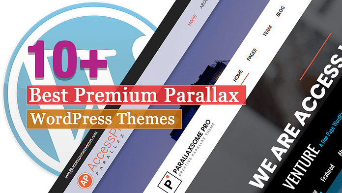 Best Premium Parallax WordPress Themes