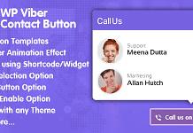 Best WordPress Viber Contact Button Plugin: WP Viber Contact Button