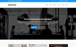 Smallbiz - Premium Business WordPress Theme