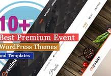 Best Premium Event WordPress Themes
