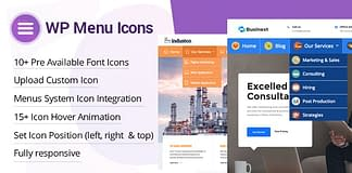 WP Menu Icons - Premium WordPress Menu Icon Plugin