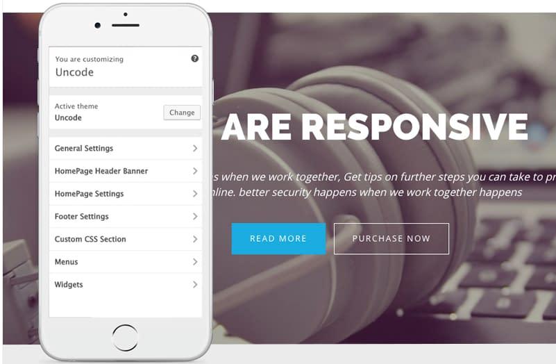 Uncode Lite - Free WordPress Business Theme