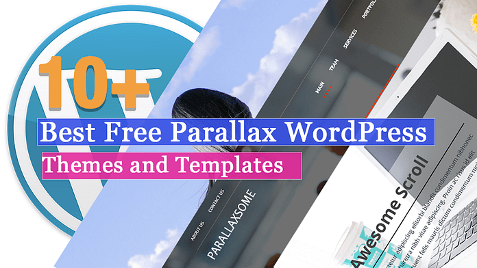 Best Free Parallax WordPress Themes