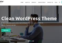 Master Business - Free Business WordPress Theme