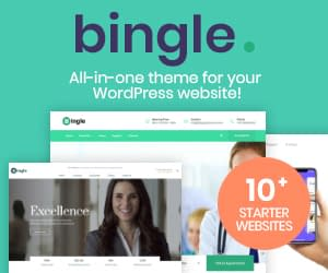 Bingle - All in One WordPress Theme