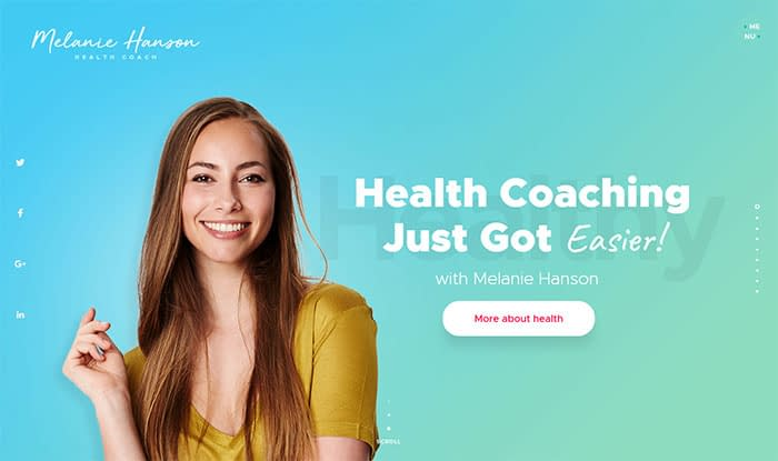 Health Coach - best Selling WordPress Themes in Themeforest 2017