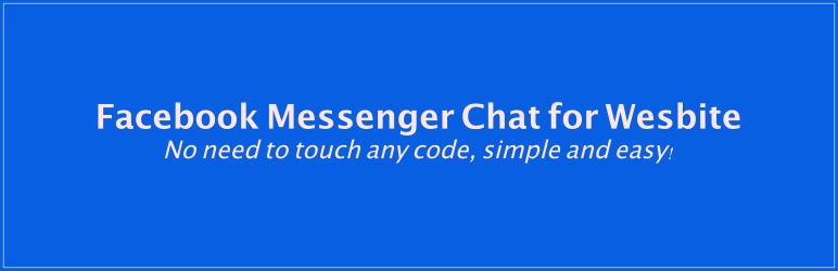 Facebook Messenger Chat for Website