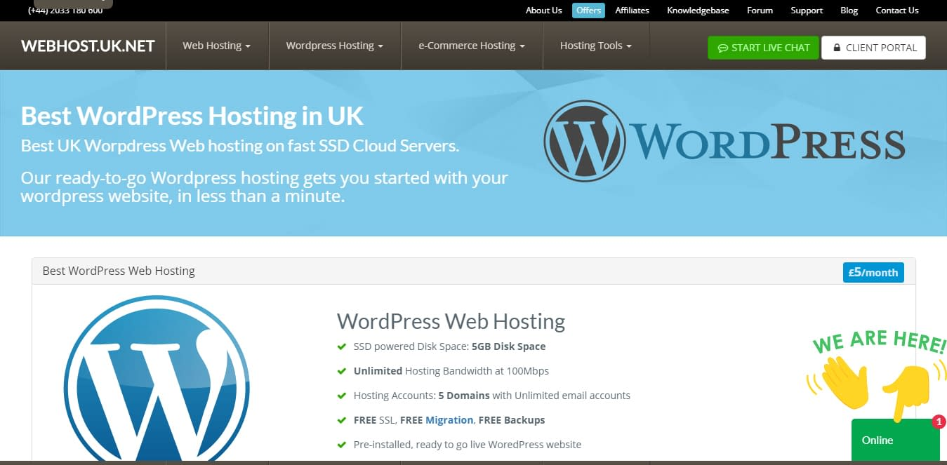 WebHost UK - Black Friday and Cyber Monday WordPress Deal 2018