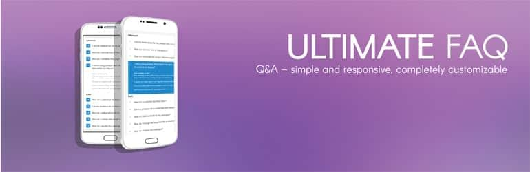 Ultimate FAQ - Free WordPress FAQ Plugins