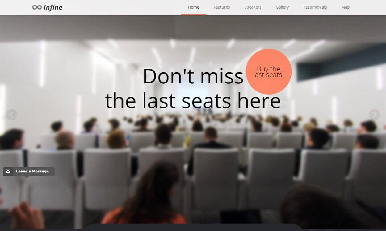 Infinite - Best Coming Soon and Under Maintenance WordPress Themes and Templates