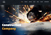 Base Ground - Premium Construction WordPress Theme