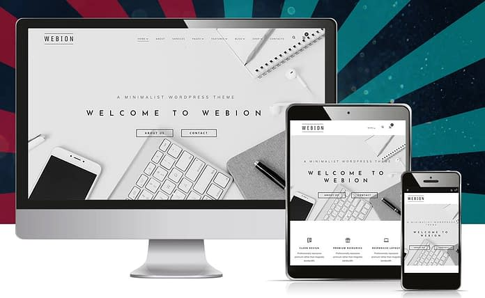 Webion - Minimal Elementor Multipurpose WordPress Theme