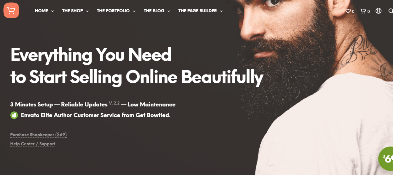 Shopkeeper - Best Premium WordPress eCommerce/WooCommerce/Online Store Themes
