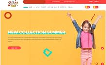 Kids - Premium eCommerce WordPress Theme