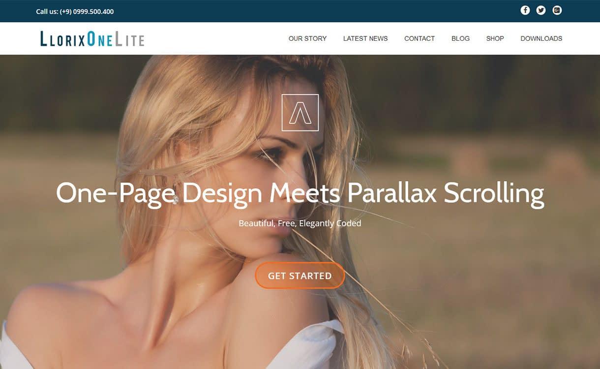 llorix-one-lite-best-free-fullscreen-wordpress-theme