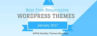 Best free WordPress Themes January 2017