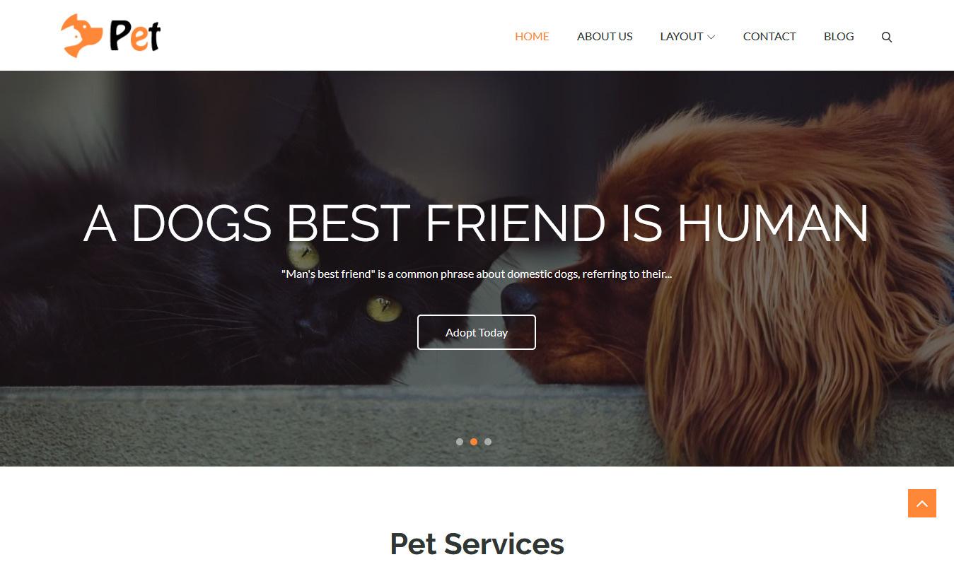 10+ Best Free Animal and Pet WordPress Themes