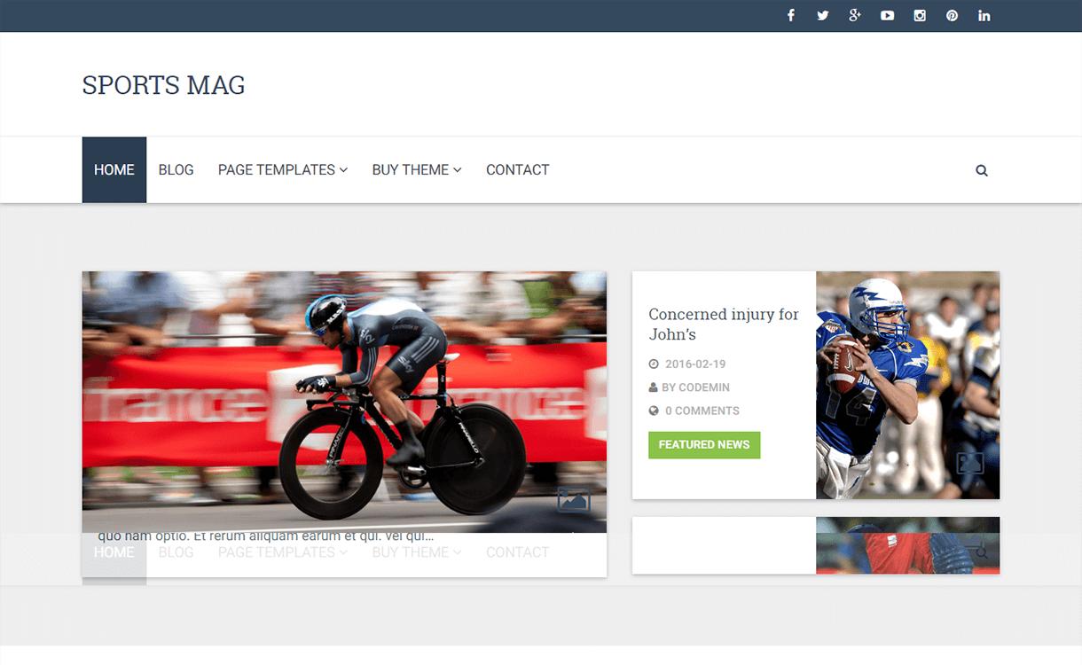 CPMmagz-WordPress Material Design Theme