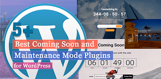 Best Coming Soon & Maintenance Mode Plugins for WordPress