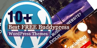 Best Free BuddyPress WordPress Themes