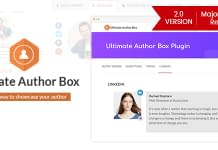Ultimate Author Box - Premium WordPress Author Bio Box Plugin