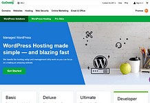 GoDaddy - Reliable WordPress Hosting Providers